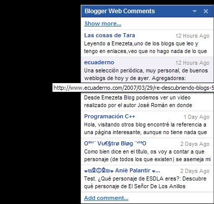blogger web comments google