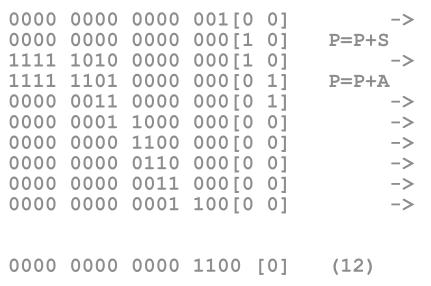 algoritmo binario booth