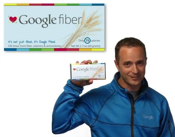 Productos ficticios de Google: Google Fiber