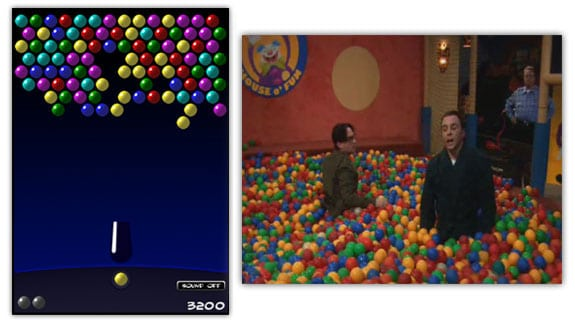 bubble bazinga sheldon big bang