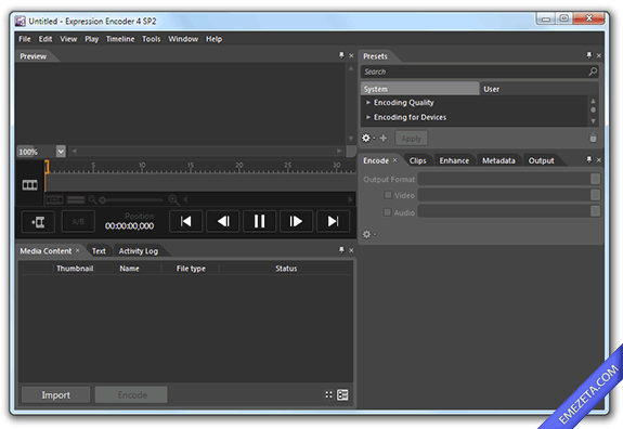 Capturar pantalla en video (screencast): Expression encoder 4