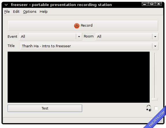 Capturar pantalla en video (screencast): Freeseer