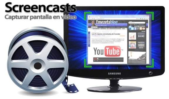 Programas para capturar pantalla en vídeo (screencast)