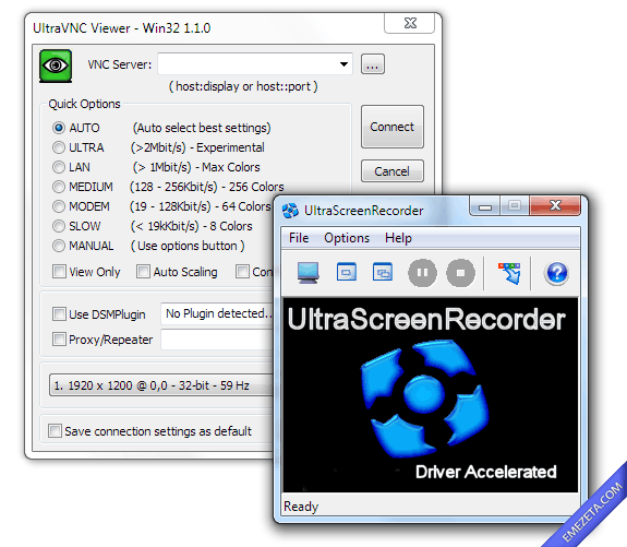 Capturar pantalla en video (screencast): Ultra screen recorder
