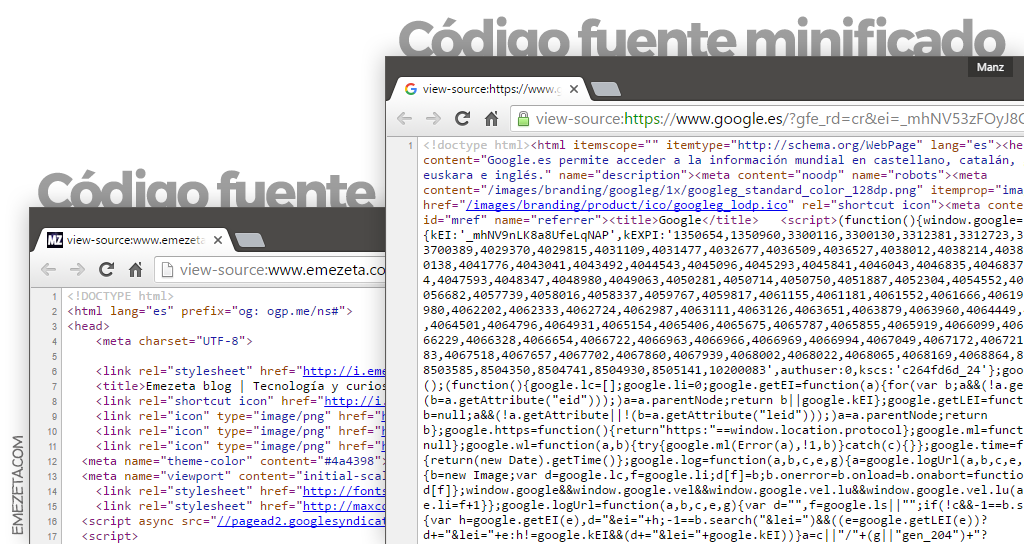 10 trucos para google chrome developer tools emezeta cdigo fuente minificado y sin minificar urtaz Image collections