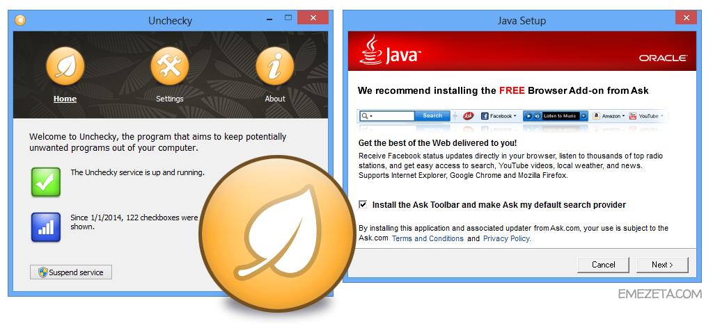Unchecky, desactiva las casillas de instalación de malware