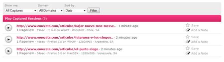 clixpy menú usabilidad web