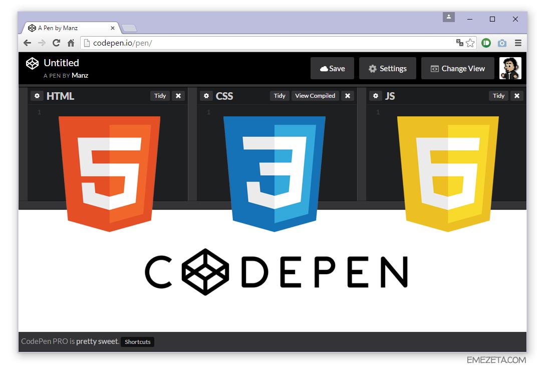 Separación de presentación (CSS3), contenido (HTML5) y programación (JS)