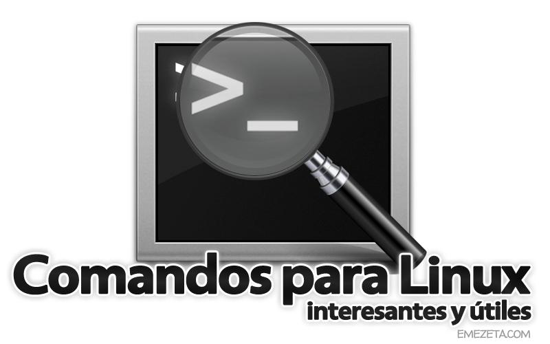 Comandos para GNU/Linux