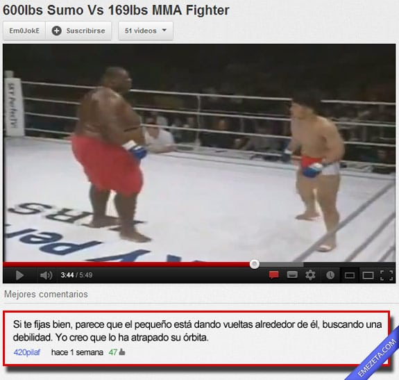 Comentarios de youtube: Orbita ring