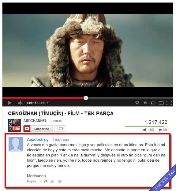 Comentarios de Youtube: Otros idiomas
