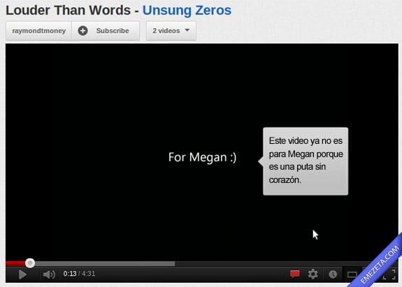 Los mejores comentarios de youtube: Dedicatoria youtube