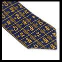 corbatas necktie tie tabla periodica quimica elementos