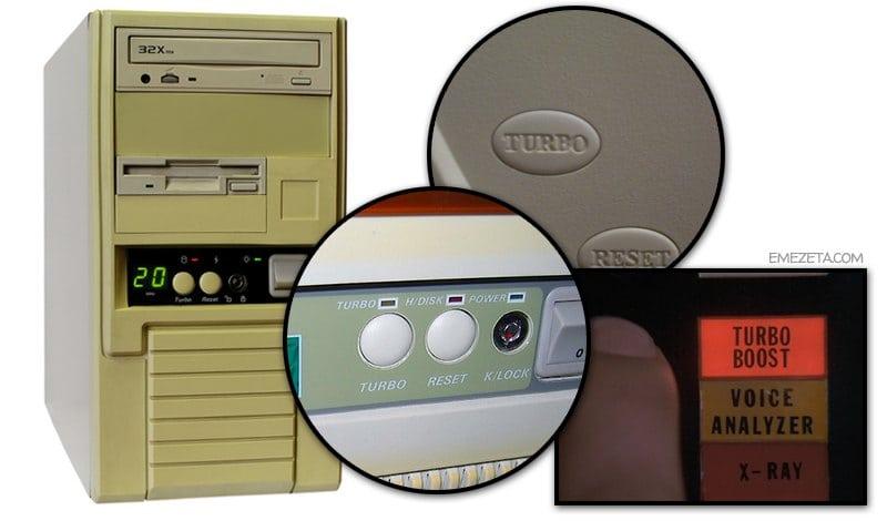 Botón Turbo del PC