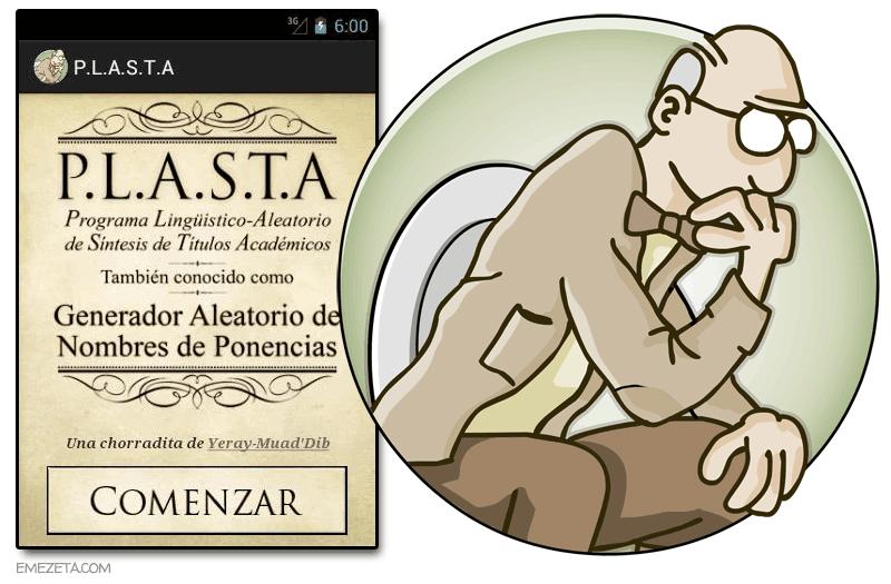 PLASTA: Generador de nombres de ponencias
