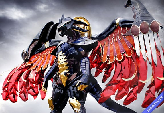 Cosplay: Bahamut (Final Fantasy)