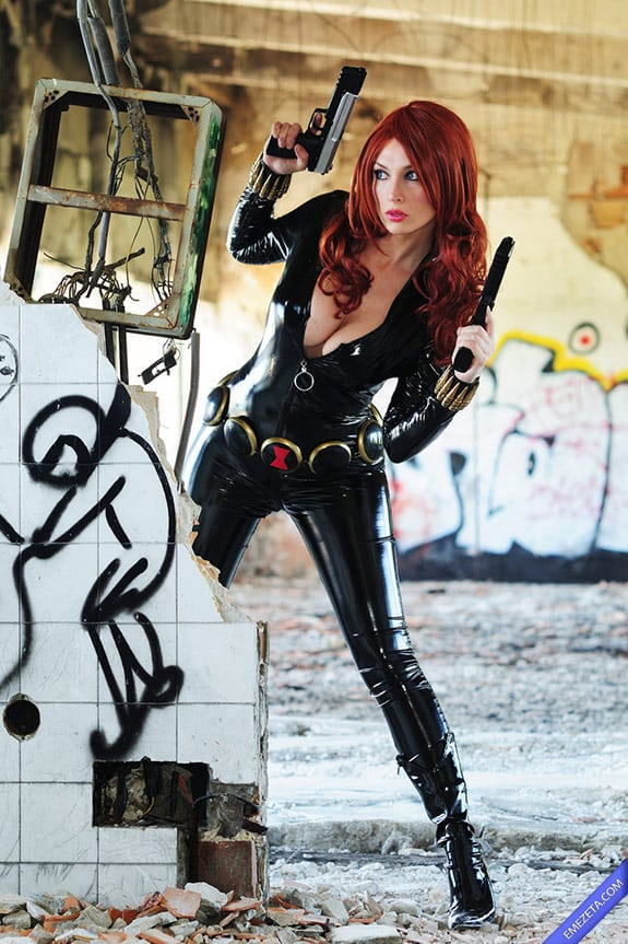 Cosplay: Black Widow (Viuda Negra)