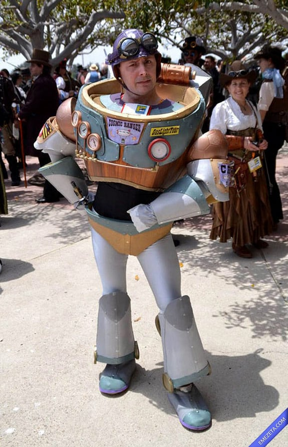 Cosplay: Buzz Lightyear (Steampunk version)