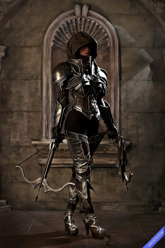 Cosplay: DemonHunter (Diablo III)
