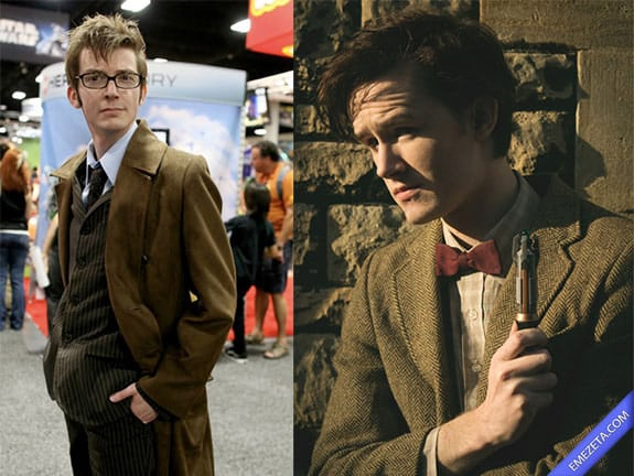 Cosplay: Doctor Who (David Tennant and Matt Smith)