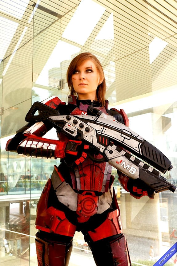 Cosplay: Female shepard mass effect