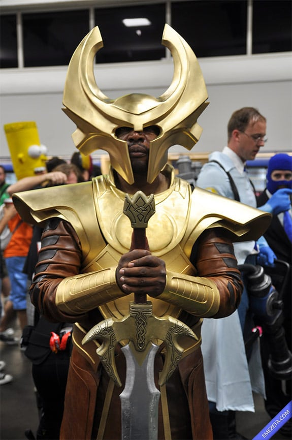 Cosplay: Guardián Heimdall (Thor)