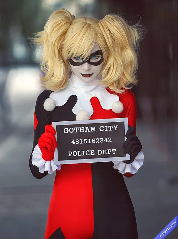 Cosplay: Harley quinn batman