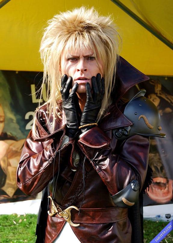 Cosplay: Jareth, el rey de los Goblins (Dentro del laberinto)