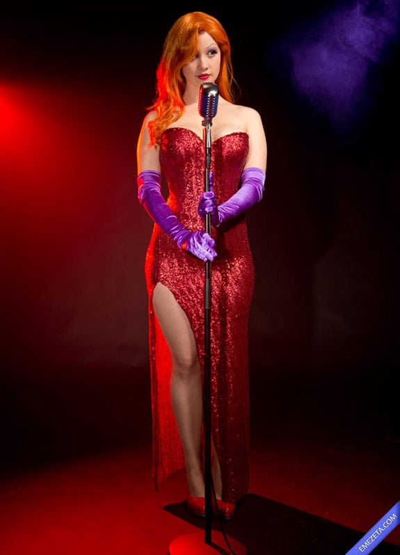 Cosplay: Jessica Rabbit (Quién engañó a Roger Rabbit)