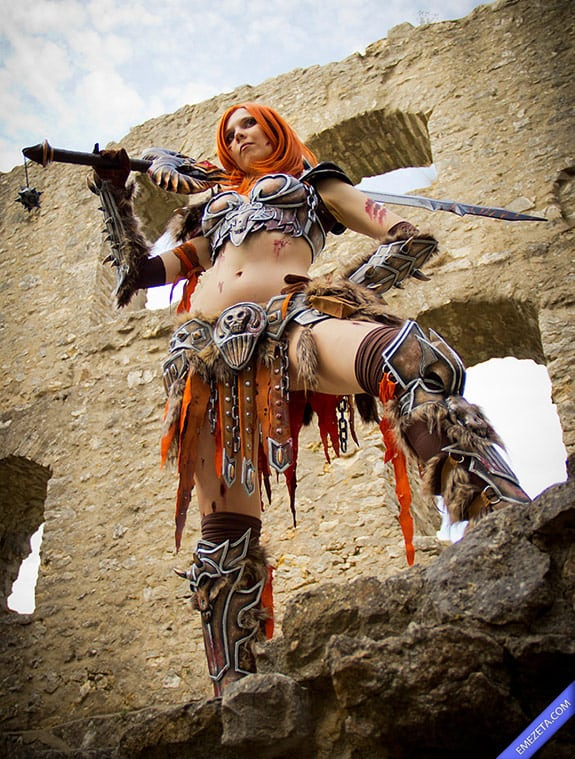 Cosplay: Lady Barbarian (Diablo)