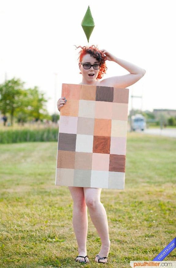 Cosplay: Naked sim