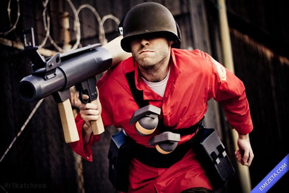 Cosplay: Soldier team fortress 2