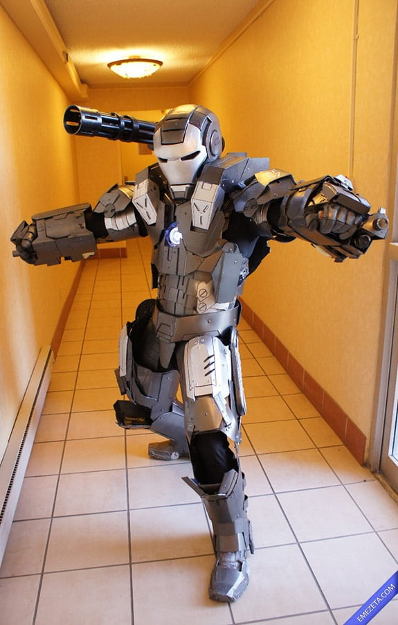 Cosplay: War Machine o Máquina de Guerra (Ironman)