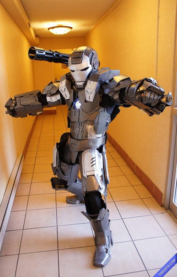 Cosplay: War Machine o Máquina de Guerra (Ironman)