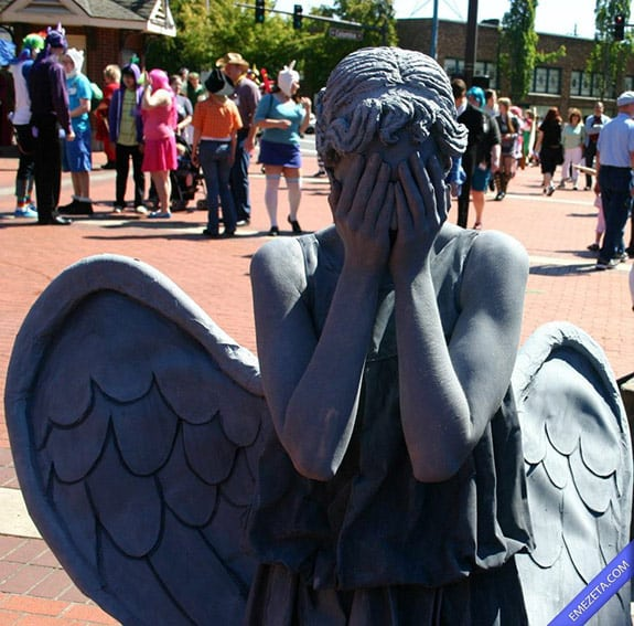 Cosplay: Weeping angel doctor who