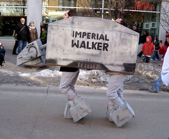 Cosplay: AT-AT Imperial Walker