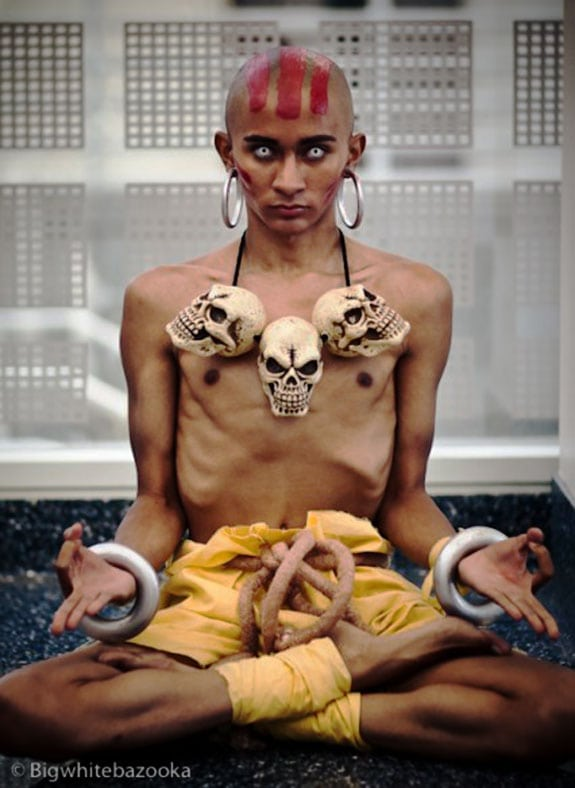 Cosplay: Dhalsim (Street Fighter)