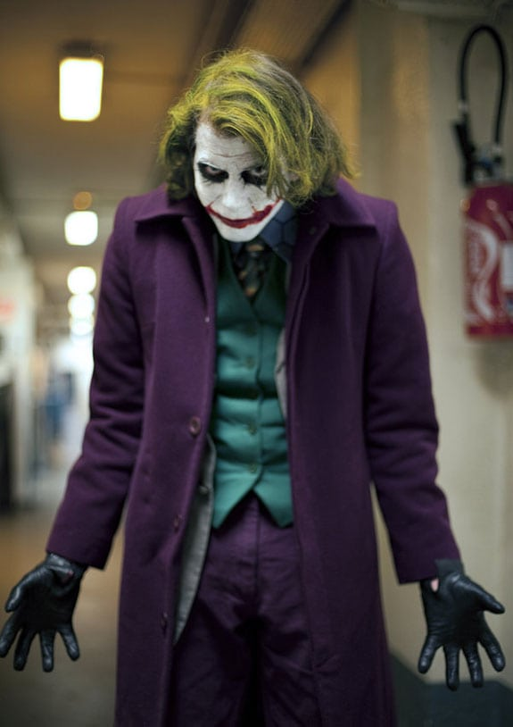 Cosplay: El Joker o El Guasón (Batman)