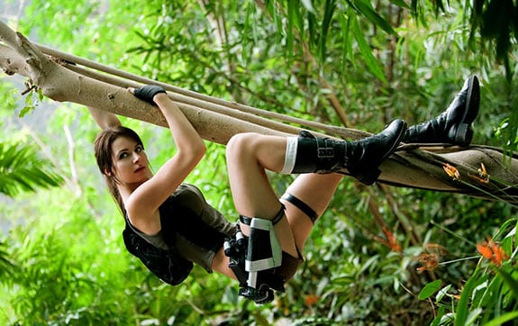 Cosplay: Lara Croft (Tomb Raider) The Zelda Project