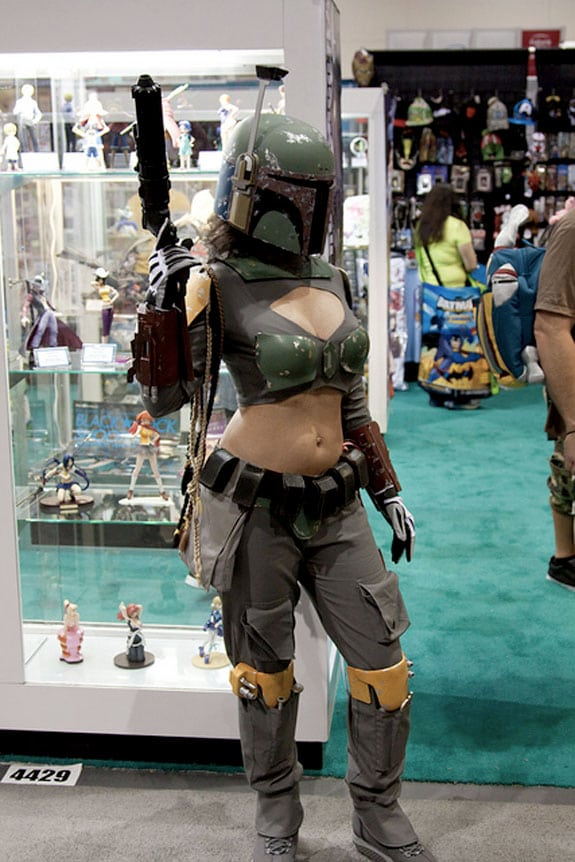 Cosplay: Miss Boba Fett (StarWars)