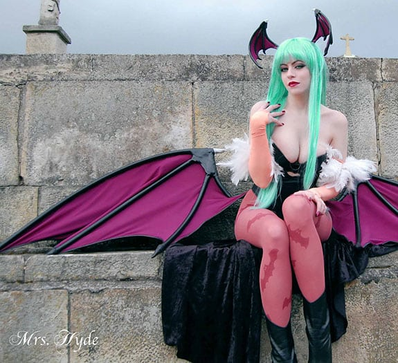 Cosplay: Morrigan Aensland Darkstalkers