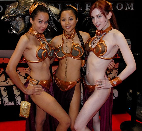 Cosplay: Princesa Leia - Slave Leia Appreciation Society