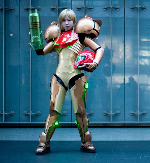 Cosplay: Samus Aran (Super Metroid)
