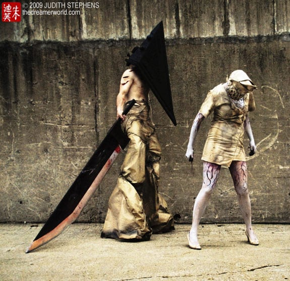 Cosplay: Silent Hill (Pyramid head y enfermeras, nurses)