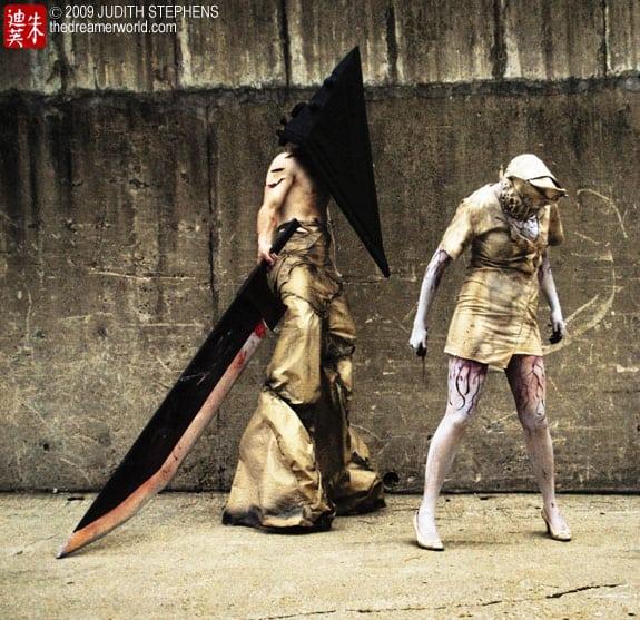 Cosplay: Silent Hill (Pyramid head y enfermeras, nurses)