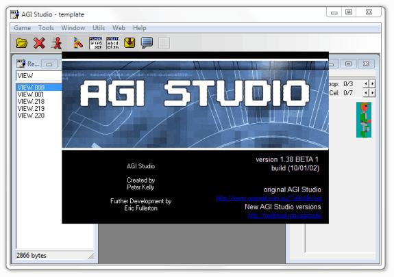 Crear aventuras gráficas: Nailhead AGI Studio (NAGI)