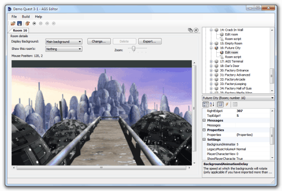Crear aventuras gráficas: Adventure Game Studio (AGS)