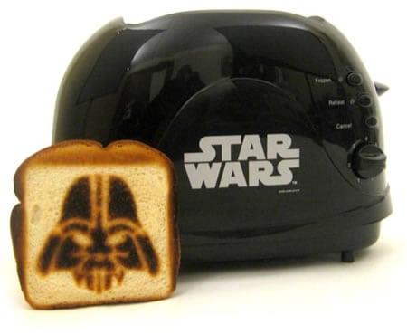 darth vader toaster tostadora