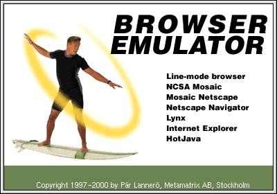 deja vu emulator mosaic netscape internet explorer hotjava
