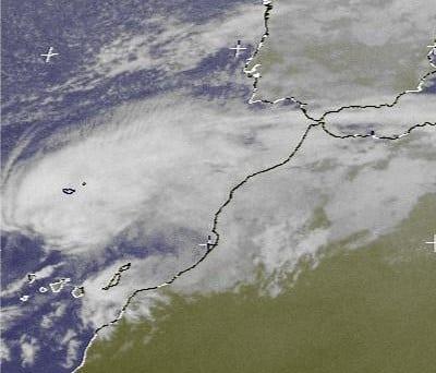 delta temporal tormenta